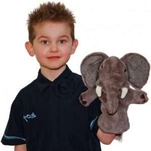 Elephant Hand Puppet 1