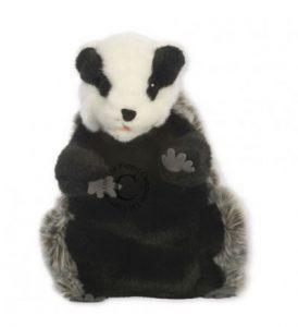 Hand Puppet Badger European