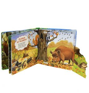 В шумном лесу. Книжка-игрушка -2