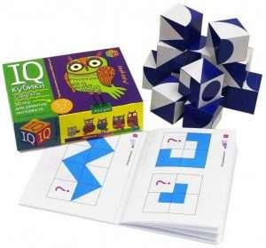 Умные кубики. Силуэты. 50 игр для развития интеллекта