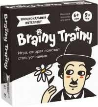 Brainy Trainy. Эмоциональный интеллект (настольно-печатная игра)