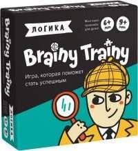 Brainy Trainy. Логика (настольно-печатная игра)